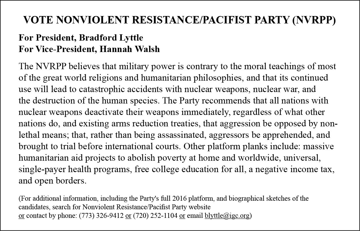united states pacifist party nvrpp leaflet